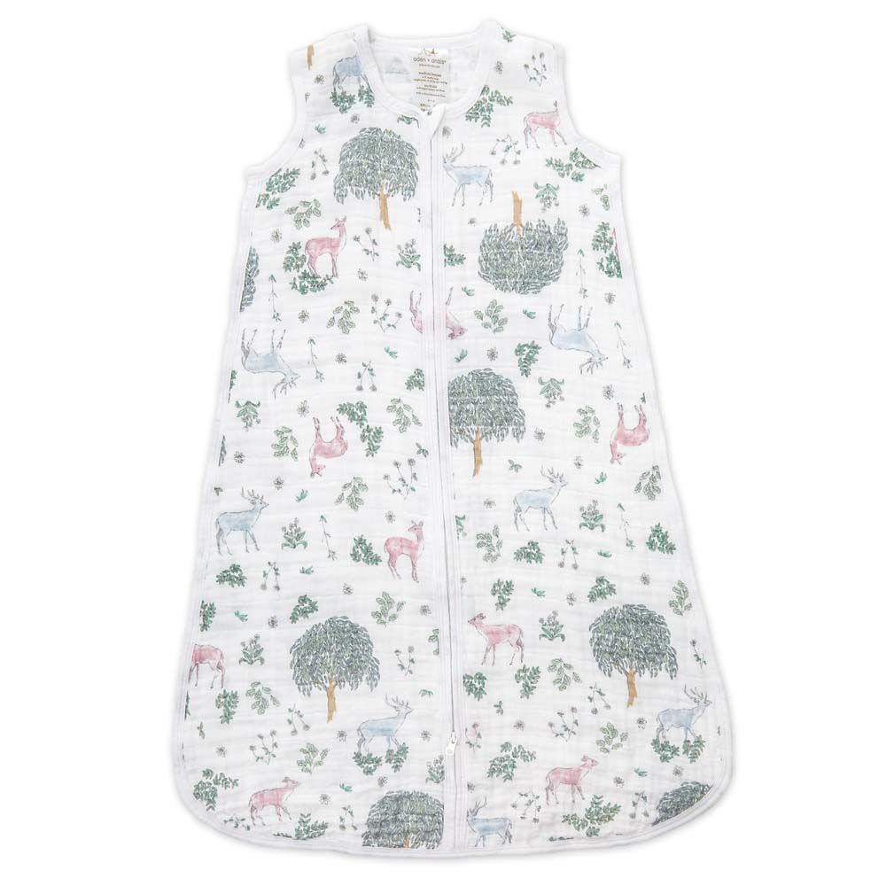 aden + anais Kids accessories Forest Fantasy Sleeping Bag - Ever Simplicity