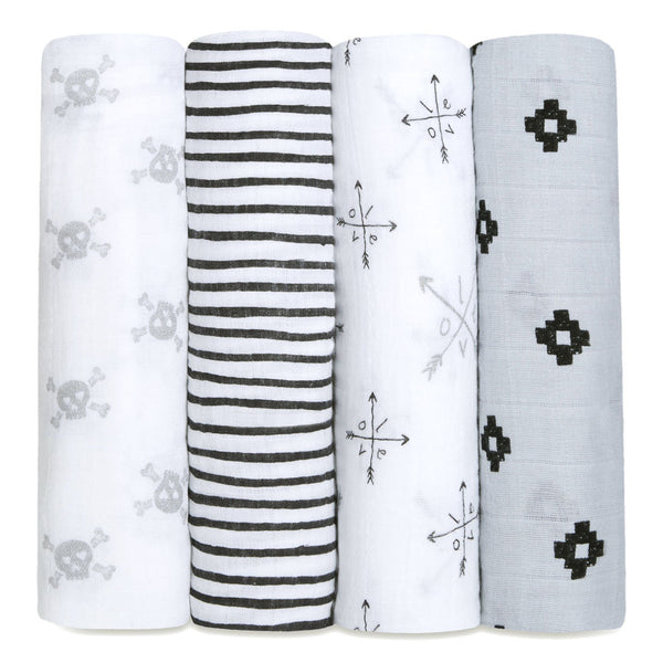 Lovestruck Classic Swaddle Set 4 Pack