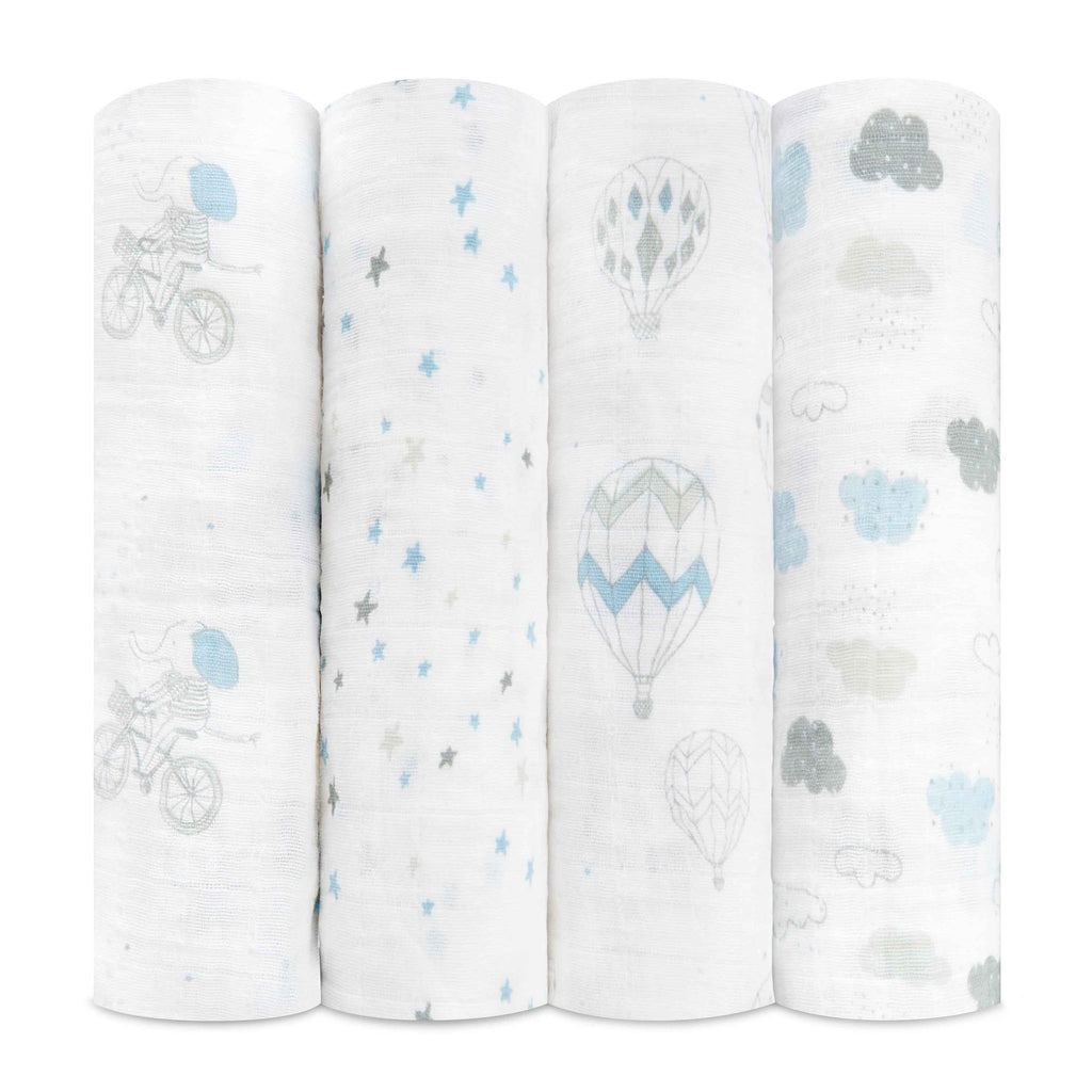Night Sky Reverie Swaddle Set 4 Pack