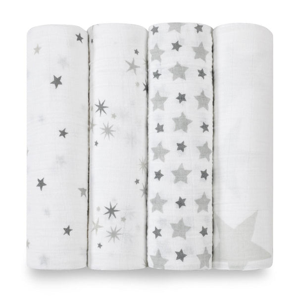 Twinkle Classic Swaddle Set 4 Pack
