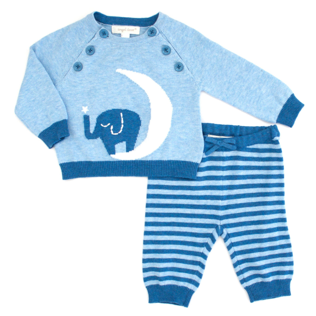Angel Dear Kids sets Elephant Sweater Set - Ever Simplicity