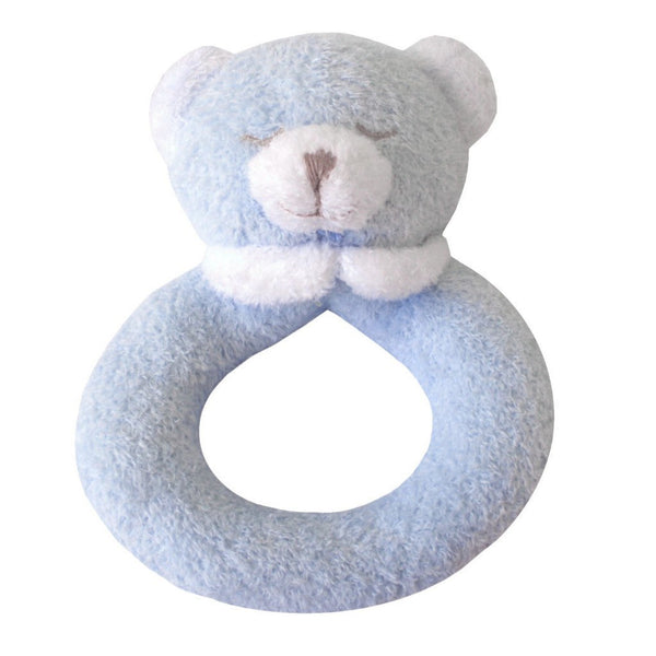 Angel Dear Kids accessories Blue Bear Ring Rattle - Ever Simplicity