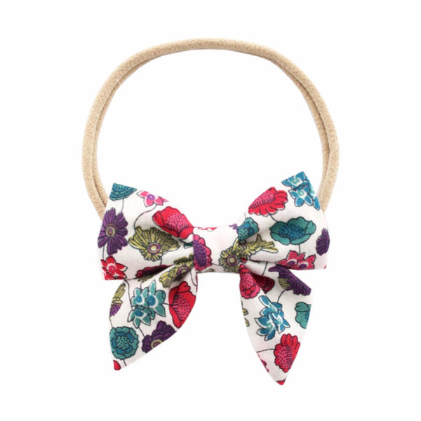 Ever Simplicity Kids accessories Liberty Floral Mini Sailor Bow - Ever Simplicity