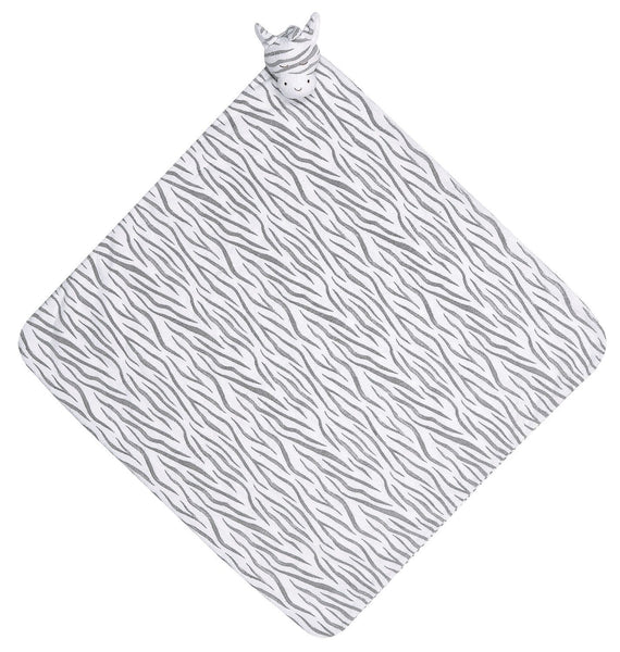 Angel Dear Kids accessories Grey Zebra Napping Blanket - Ever Simplicity