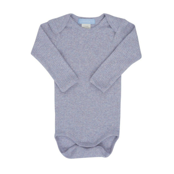 Serendipity Organics Baby bodysuits Organic Rib Solid Body-Lavender - Ever Simplicity