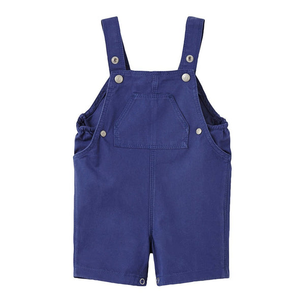 Petit Bateau Kids one-pieces Navy Twill Overall - Ever Simplicity