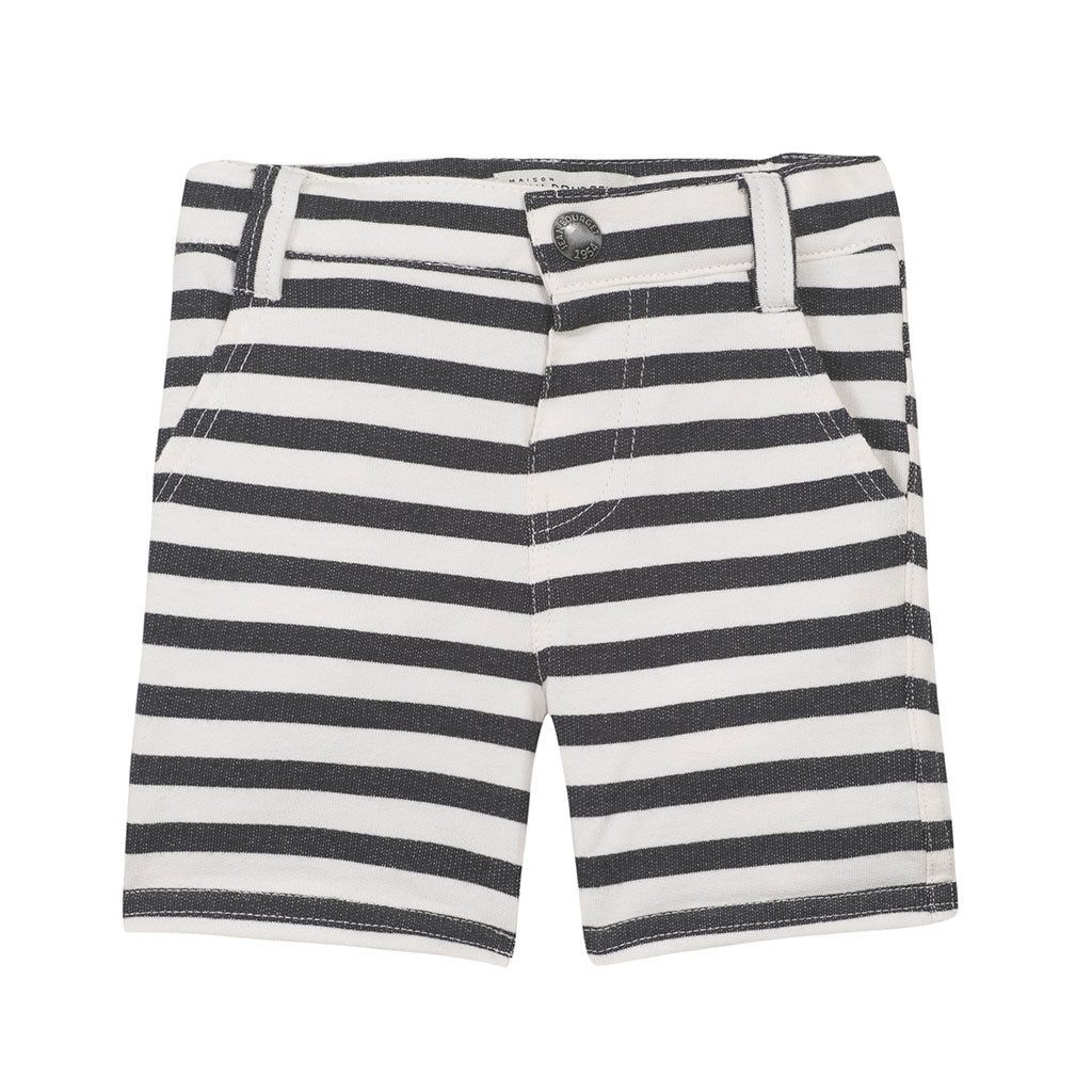Jean Bourget Baby Bottom Striped Shorts - Ever Simplicity