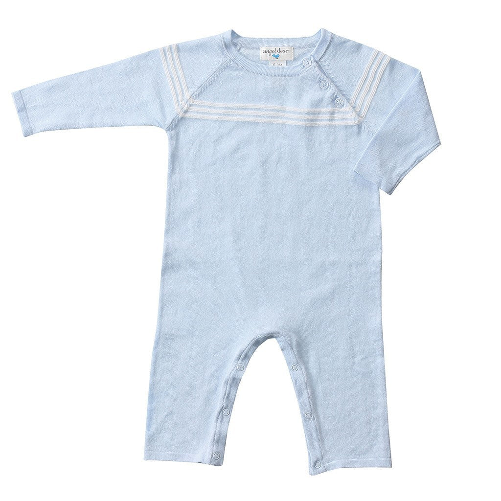 8bccd53b07c1 Angel Dear Kids romper Blue Mini Sailor Coverall - Ever Simplicity