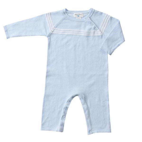 Angel Dear Kids romper Blue Mini Sailor Coverall - Ever Simplicity
