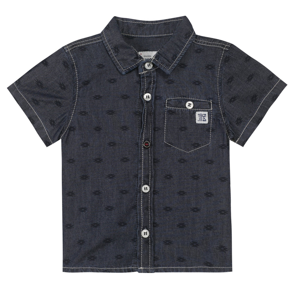 Jean Bourget Baby top Printed Jean Shirts - Ever Simplicity