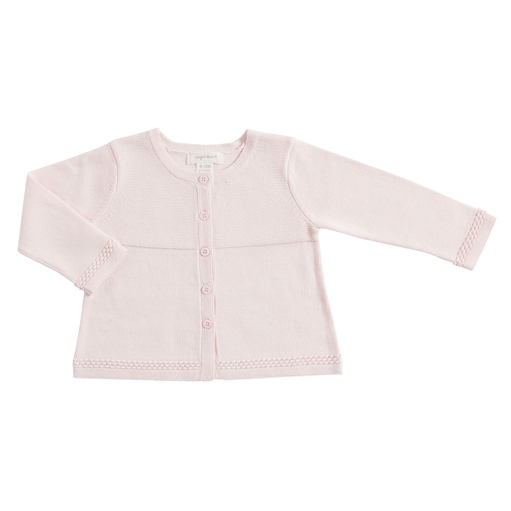 Angel Dear Baby cardigan Pink Bella Cardigan - Ever Simplicity