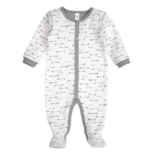 Petit Lem Kids footie Arrow Printed Footie Sleeper - Ever Simplicity