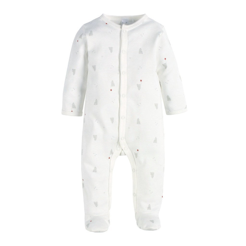 Petit Lem Kids footie Teddy Bear Print Footie Sleeper - Ever Simplicity