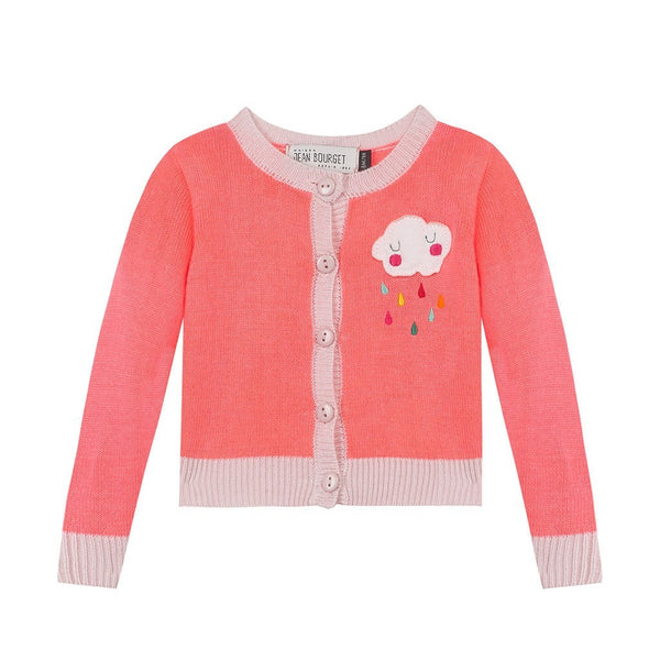 Jean Bourget Kids cardigans Cloud Coral cardigan - Ever Simplicity