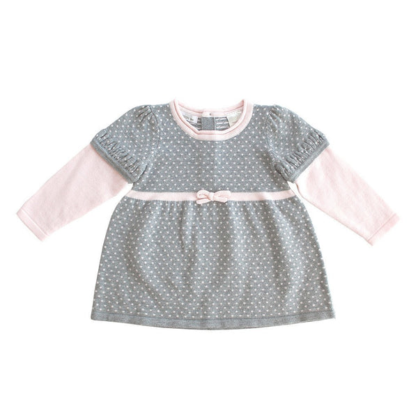 Beanstork Kids dress Girls Cotton Knit Dress - Ever Simplicity