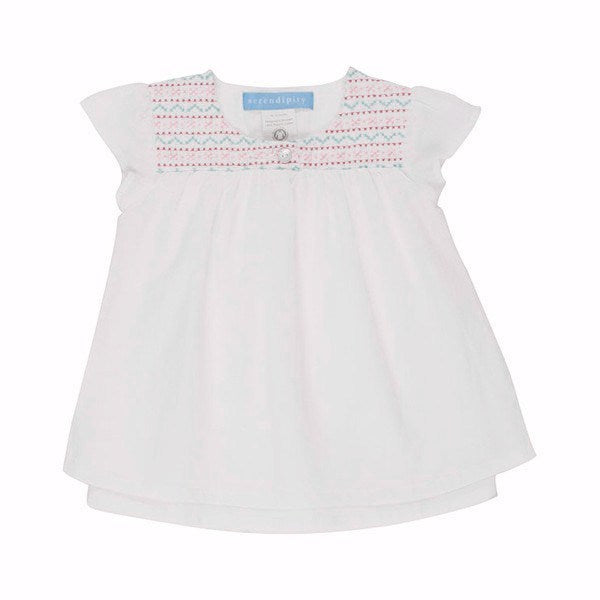 Serendipity Organics Kids dresses Embroidery Dress - Ever Simplicity