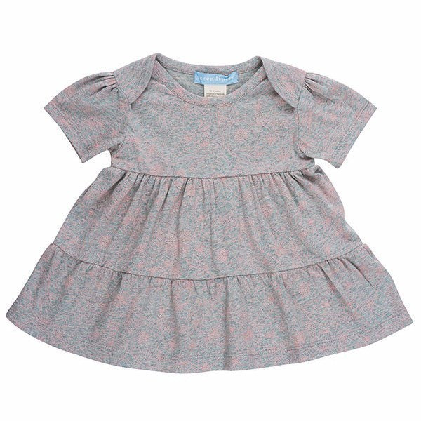 Serendipity Organics Kids dresses Melange Jersey Dress - Ever Simplicity