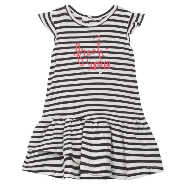Jean Bourget Kids dresses Stripe Jersey dress - Ever Simplicity