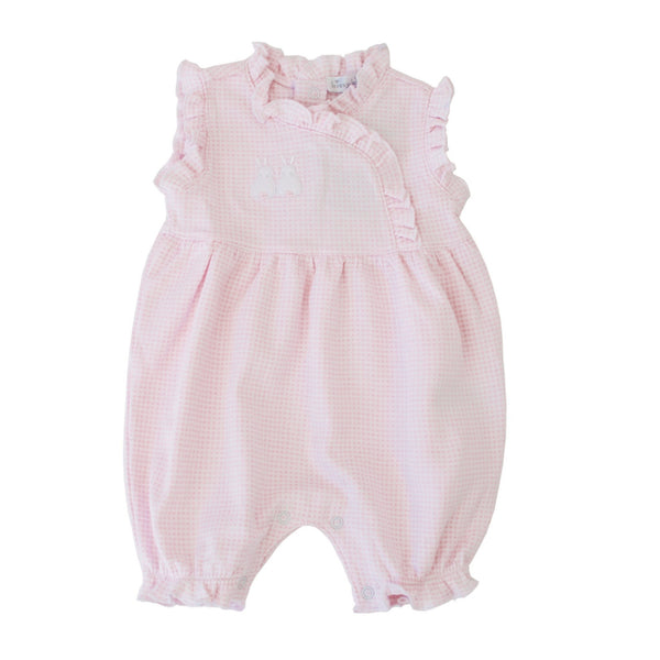 Kissy Kissy Kids one-pieces Bunny Gingham Short Playsuit - Ever Simplicity