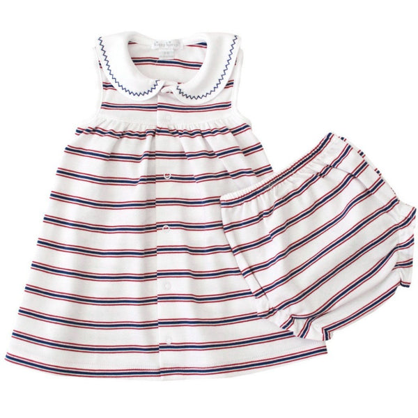 Kissy Kissy Baby sets Nautical Mile Dress & Bloomer Set - Ever Simplicity