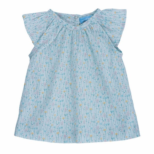 Serendipity Organics Kids tops Botanica Flair Blouse - Ever Simplicity