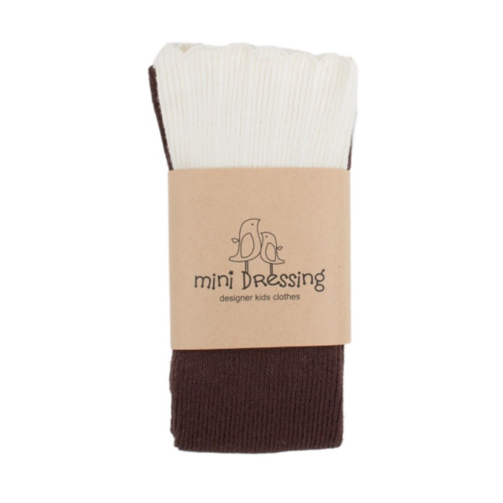 mini dressing Kids accessories Cupcake Knee Socks-Brown - Ever Simplicity