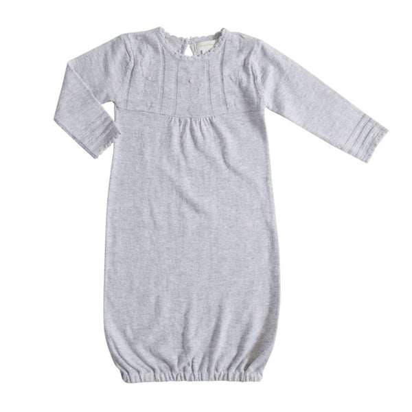 Angel Dear Kids knit Light Grey Heather Gown - Ever Simplicity