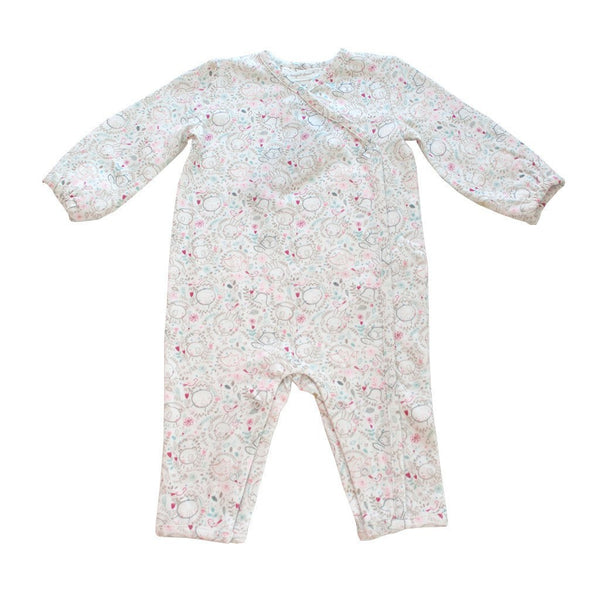 Angel Dear Baby romper Winter Woodland Print Romper - Ever Simplicity