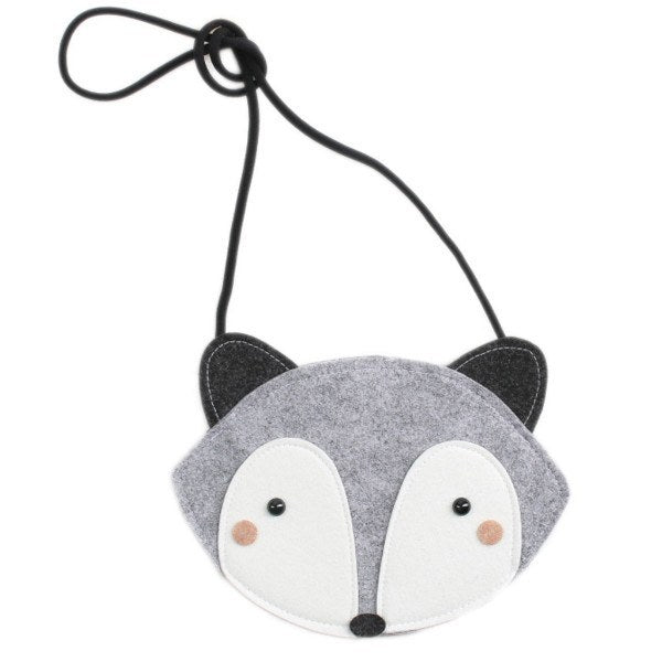 mini dressing Baby accessories Fox Bag - Gray - Ever Simplicity