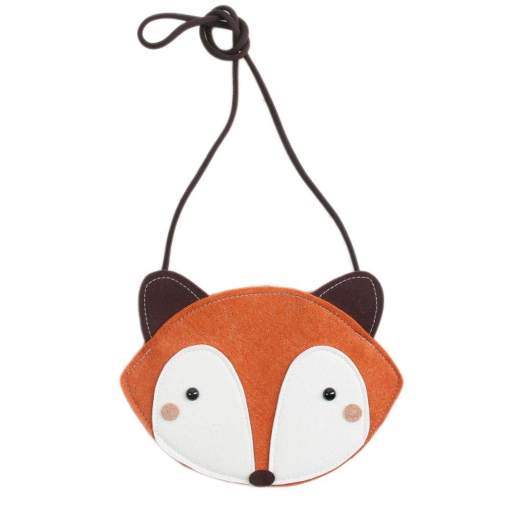mini dressing Kids accessories Fox Bag-Orange - Ever Simplicity