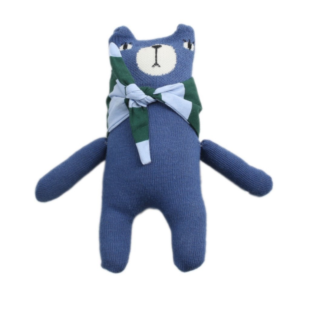 mini dressing Kids toy Bear Doll-Cobalt - Ever Simplicity
