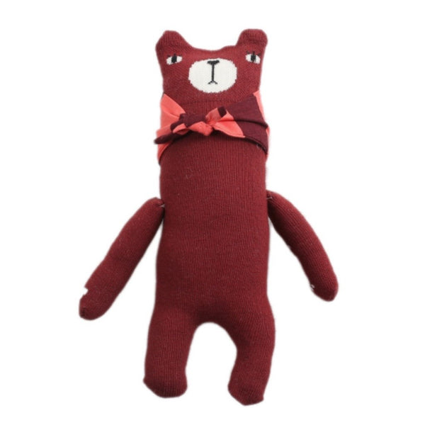 mini dressing Kids toy Bear Doll-Red - Ever Simplicity