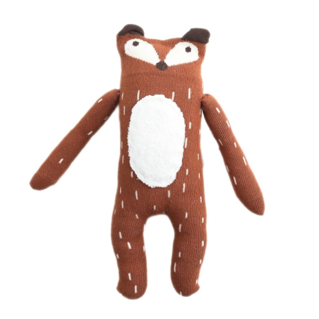 mini dressing Kids toy Fox Doll-Brown - Ever Simplicity