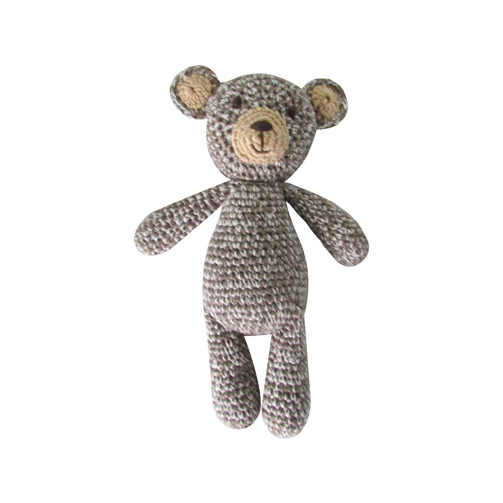 Albetta Kids Toys Crochet Bear Rattle - Ever Simplicity