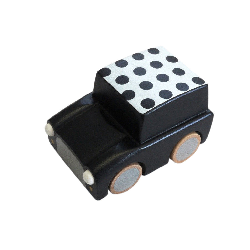 Kukkia Kids toys Kuruma-Black/Dot - Ever Simplicity