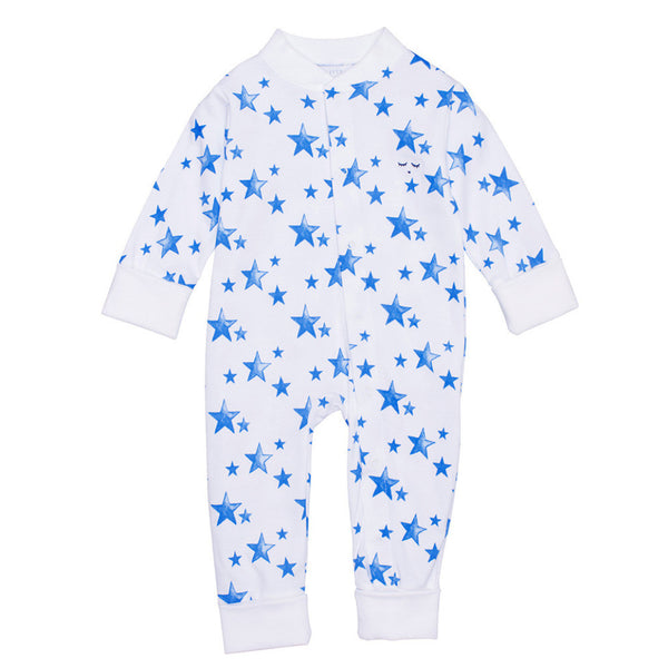 Livly Kids one-pieces Blue Star Overall - Ever Simplicity
