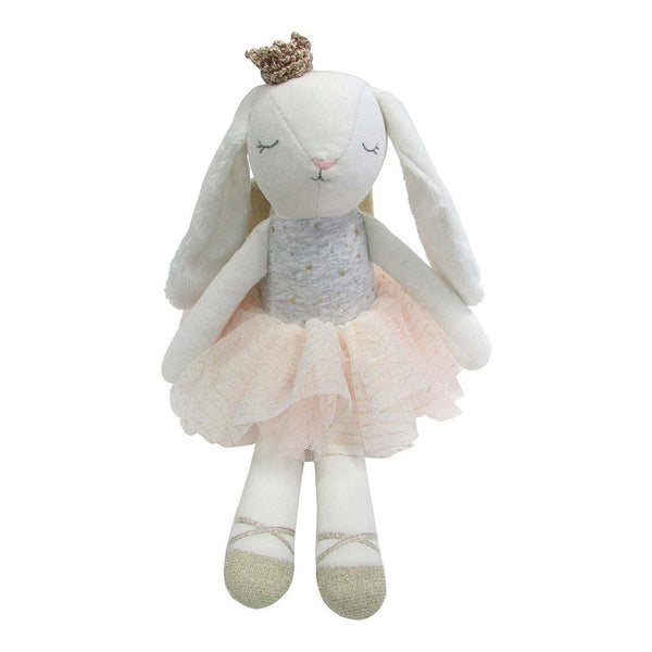 Princess Bunny Doll with Crown and Wings