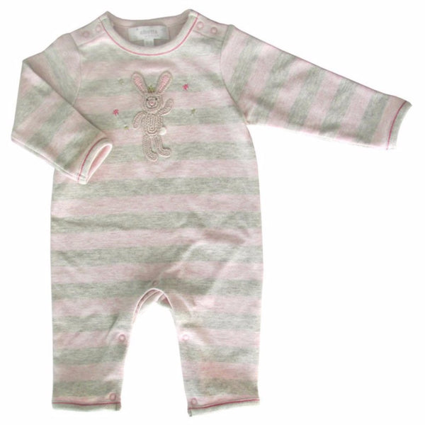 Albetta Kids one-pieces Striped Bunny Babygrow - Ever Simplicity