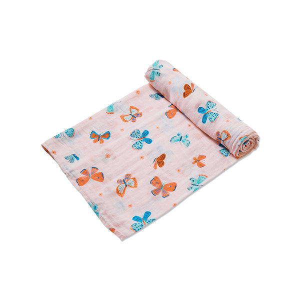 Angel Dear Kids accessories Butterflies Muslin Swaddle - Ever Simplicity