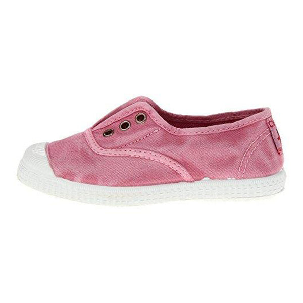 Cienta Kids accessories Canvas Sneaker-Distressed Pink - Ever Simplicity