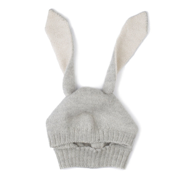 Oeuf Kids accessories Grey Rabbit Hat - Ever Simplicity