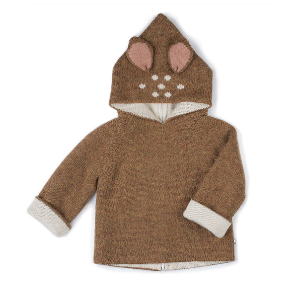 Oeuf Kids cardigans Bambi Hoodie - Ever Simplicity