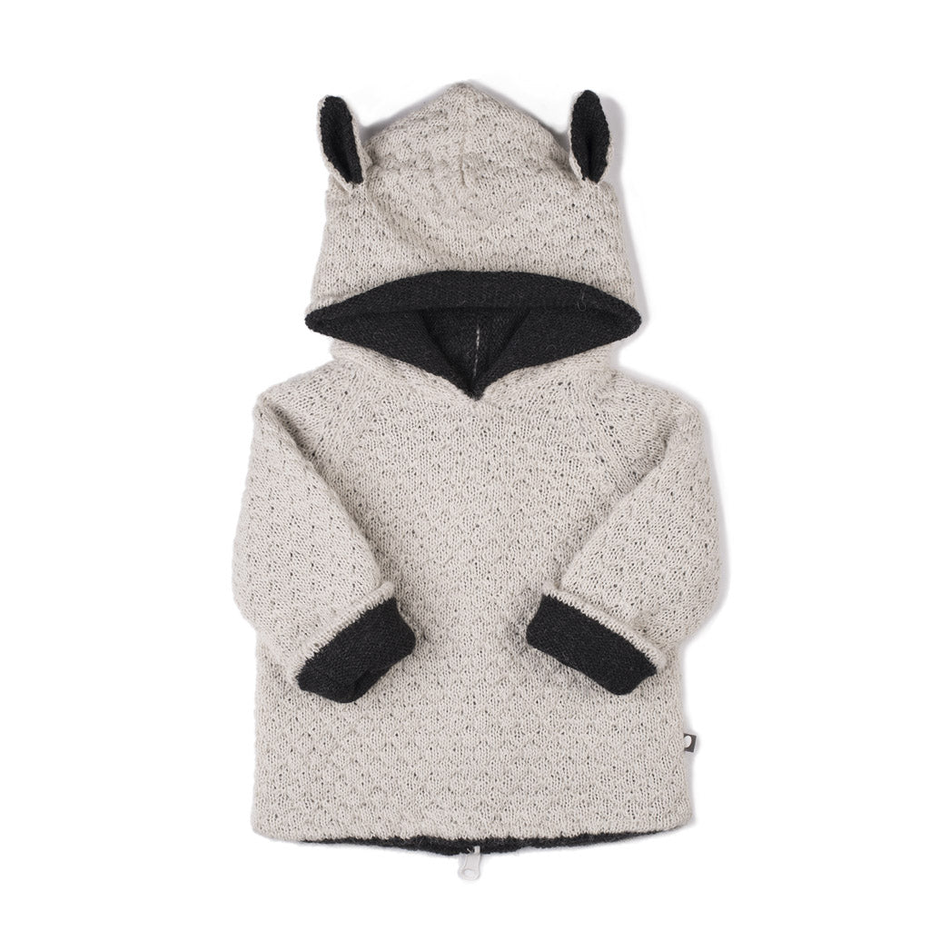Oeuf Kids cardigans Animal Hoodie-Sheep - Ever Simplicity