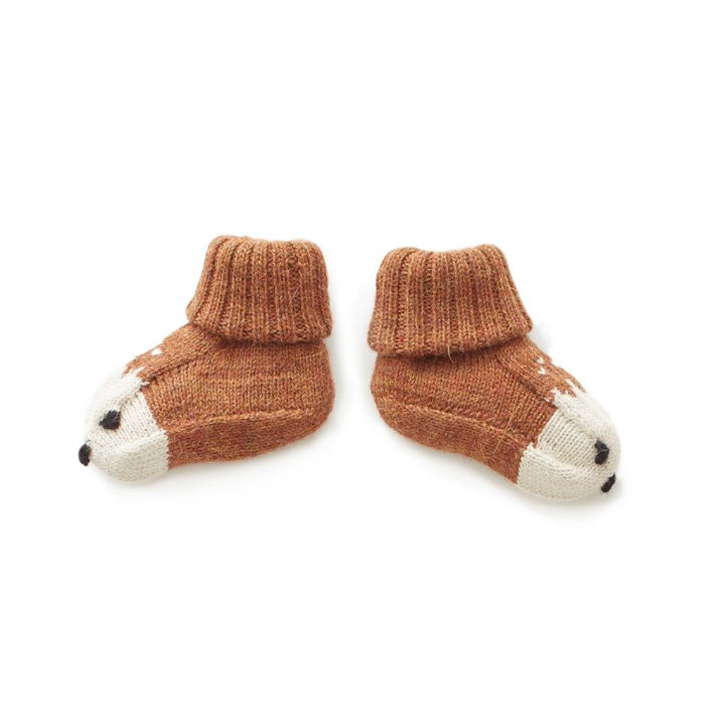 Oeuf Kids accessories Animal Booties-Bambi - Ever Simplicity