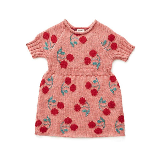 Oeuf Kids Dresses Cherry Dress - Ever Simplicity