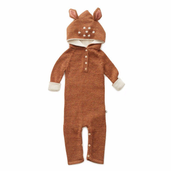 Oeuf Kids one-pieces Hooded Jumper-Bambi - Ever Simplicity