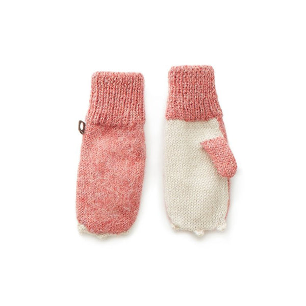 Oeuf Kids accessories Animal Mittens-Rose Bunny - Ever Simplicity
