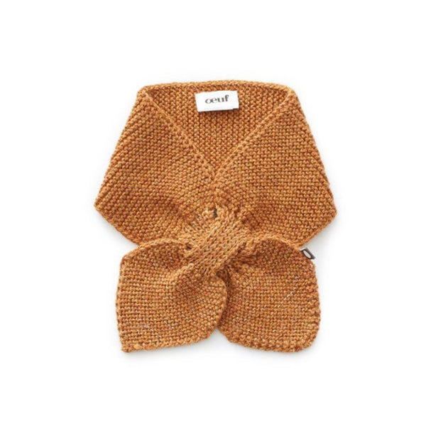 Oeuf Kids accessories Gold Tip Neckie-Ochre - Ever Simplicity