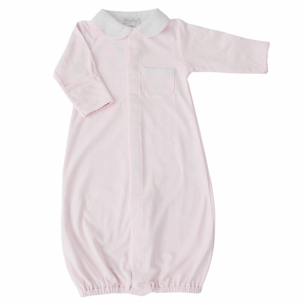 Kissy Kissy Essential Pink Beginning Baby Girl Convertible Gowns