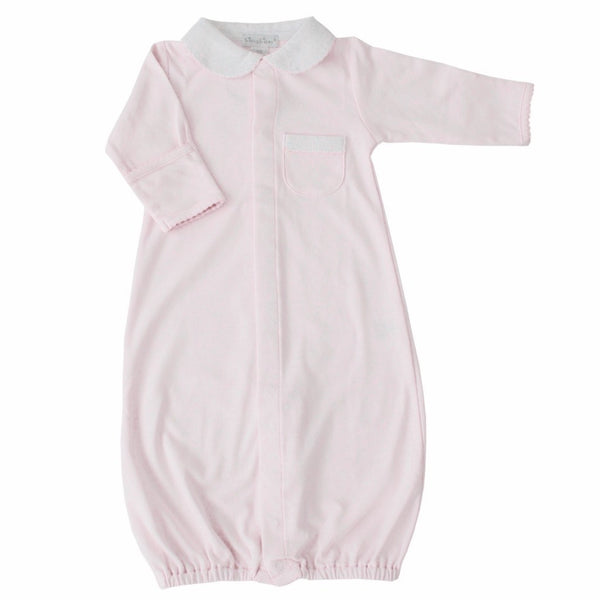 Kissy Kissy Kids gown Baby Girl Beginning Convertible Gown - Ever Simplicity